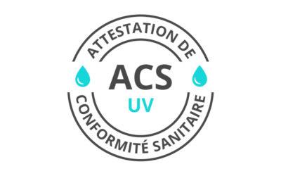 Une gamme de systèmes UV validée ACS UV