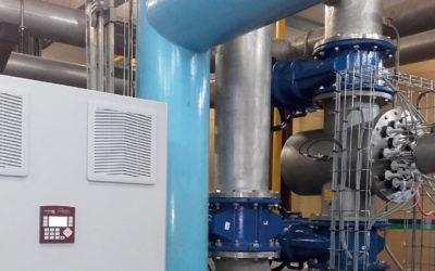 Désinfection UV à l'usine d'eau potable de Varangeville